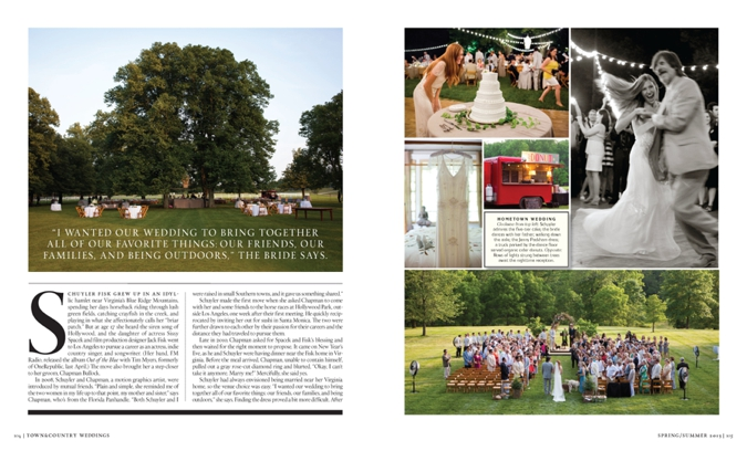 You Pick It >> Featured in Town & Country Weddings
