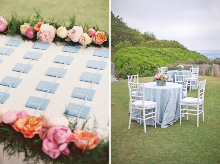 Blue And Pink Escort Card Table Planning Design Easton Events