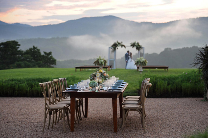 An Evening Inspired Shoot At Pippin Hill